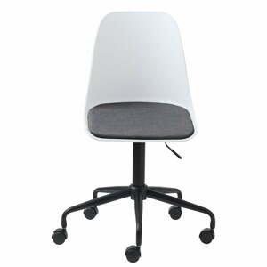 Bílá kancelářská židle Unique Furniture