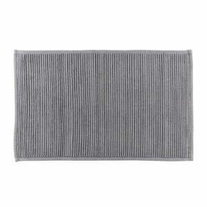 Šedá koupelnová předložka z bavlny Södahl, 50x80cm
