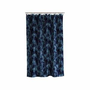 Modrý sprchový závěs Södahl Leaves