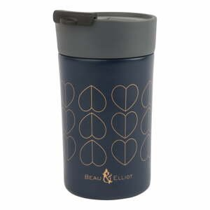 Modrý termohrnek Navigate Confetti, 300 ml