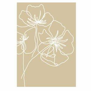Plakát na kvalitním fotopapíře Veronika Boulová Kvetoucí, A3