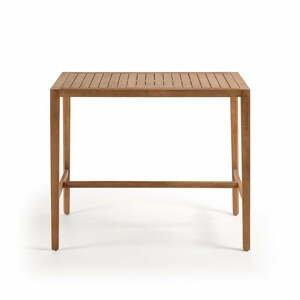 Zahradní jídelní stůl z eukalyptového dřeva La Forma Cybille, 130 x 80 cm