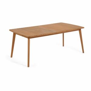 Zahradní rozkládací jídelní stůl z eukalyptového dřeva La Forma Hanzel
