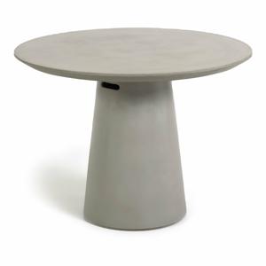 Betonový venkovní jídelní stůl La Forma Itai, ⌀ 120 cm