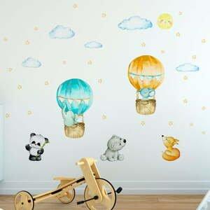 Dětské samolepky na zeď Ambiance Balloons and Stars