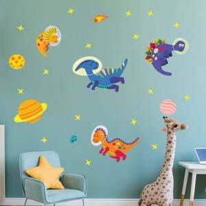 Dětské samolepky na zeď Ambiance Dinosaurs