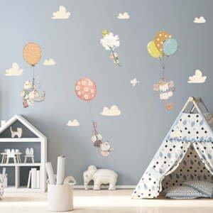 Dětské samolepky na zeď Ambiance Flying Mouse