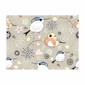 Velkoformátová tapeta Artgeist Natural Pattern with Birds,400x309cm