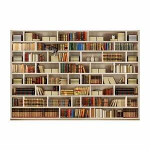 Velkoformátová tapeta Artgeist Home Library,200x140cm