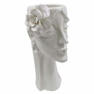 Bílá porcelánová váza Mauro Ferretti Woman