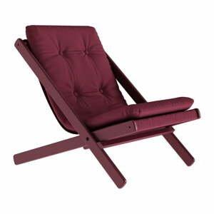 Skládací křeslo Karup Design Boogie Siesta Red/Bordeaux
