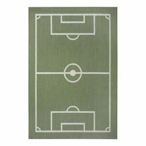 Zelený dětský koberec Ragami Playground, 80 x 150 cm
