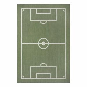 Zelený dětský koberec Ragami Playground, 160 x 230 cm