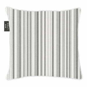 Bílo-černý výhřevný polštář Cosi z látky Sunbrella, 50 x 50 cm