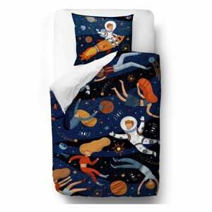 Bavlněné dětské povlečení Mr. Little Fox Space Adventure, 100 x 130 cm