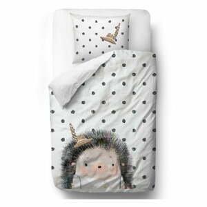 Bavlněné povlečení Mr. Little Fox Hedgehog Boy, 140 x 200 cm