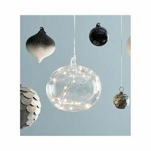 Vánoční závěsná světelná dekorace Markslöjd Lina,ø18cm
