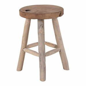 Teaková stolička se 4 nohami House Nordic Badia, ø 30 cm