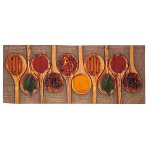 Vysoce odolný kuchyňský koberec Floorita Spices,60x150cm