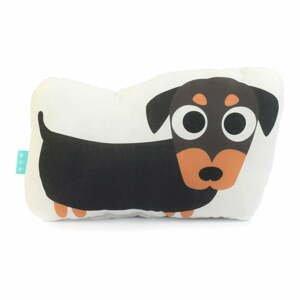 Bavlněný polštářek Mr. Fox Dogs, 40x30cm