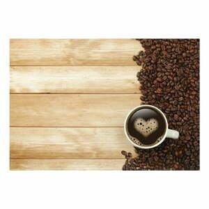 Vinylová předložka Coffee, 52x75 cm