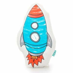 Bavlněný polštářek Mr. Fox Space Rocket 40x30cm