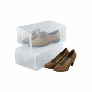 Sada 2 úložných boxů na boty Wenko Pack