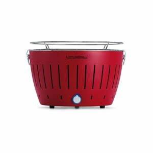 Červený bezkouřový gril LotusGrill