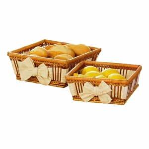 Set 2 košíků Natural Fern