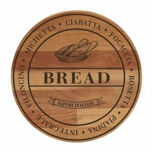 Prkénko z bukového dřeva Bisetti Broad Bread, ø30cm