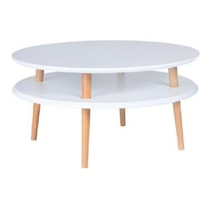 Bílý konferenční stolek Ragaba UFO,⌀70cm