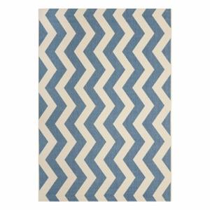 Koberec vhodný i na venkovní použití Safavieh Amalfi Blue, 289 x 200 cm