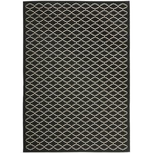 Koberec vhodný i na venkovní použití Safavieh Gwen Black, 230 x 160 cm
