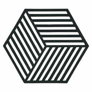 Podložka pod horké nádoby Zone Hexagon, černá