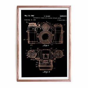 Zarámovaný plakát Really Nice Things Camera, 40x60cm