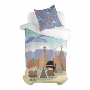 Dětské povlečení z čisté bavlny Happynois Indian Night, 140x200cm