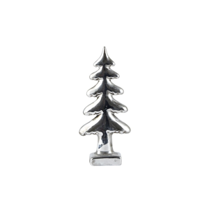 Dekorativní stromek KJ Collection Silver, výška 18 cm