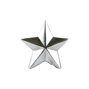 Dekorativní soška KJ Collection Star Silver, výška 12 cm