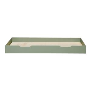 Zelená spodní zásuvka pro postel WOOOD Nikki, 200x90cm