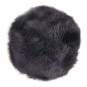 Šedá ovčí kožešina House Nordic Circle, 35 cm