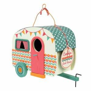 Dřevěná ptačí budka ve tvaru karavanu Rex London Frank