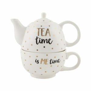 Kameninová konvička s hrnkem Sass & Belle Tea Time