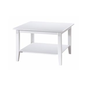 Bílý konferenční stolek Rowico Wittskar, 80x 80cm