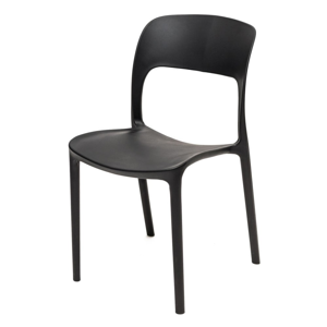 Černá židle Ragaba UFO