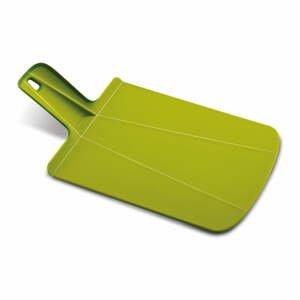 Zelené skládací krájecí prkénko Joseph Joseph Chop2Pot Plus, délka 38 cm