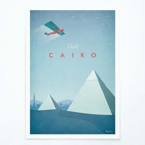 Plakát Travelposter Cairo, A3