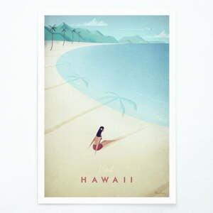 Plakát Travelposter Hawaii, A2