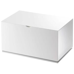 Bílá krabička do koupelny YAMAZAKI Veil