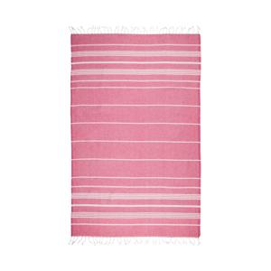 Tmavě růžová hammam osuška Kate Louise Classic, 180x100cm