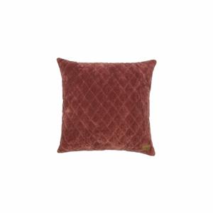 Tmavě červený polštář BePureHome Cuddle